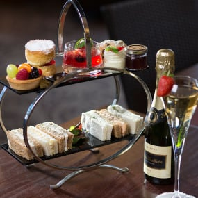 Champagne Afternoon Tea for Two Restaurant Voucher