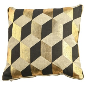 Malini Zante Gold Cushion