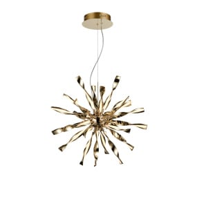 Supernova Gold 24 Light Pendant Light