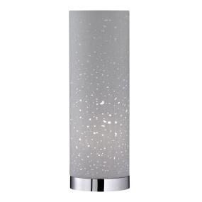 Starlight Grey Column Table Lamp