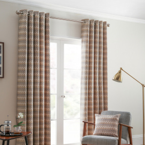 Belfield Rio Ochre 66x54 Curtains