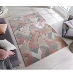 Aurora Dusky Pink Rug 120x170cm | Housing Units