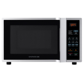 Daewoo Silver 28 Litre Easy Steam Cleaning Combi Microwave Oven & Grill