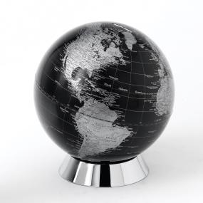 Black Globe Money Box