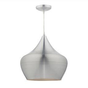 Pogo Spun Aluminium Single Pendant Light