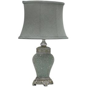 Abri Duckegg Sparkle Mosaic Medium Table Lamp and Shade