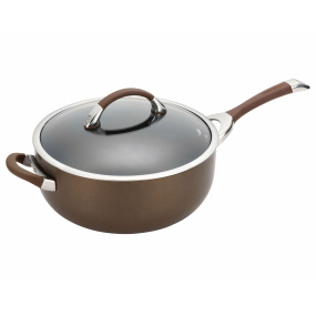 Circulon Symmetry Chocolate 28cm Covered Chef's Pan