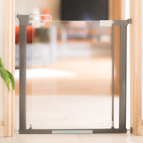 Fred Pressure Fit Clear-View Stair Gate