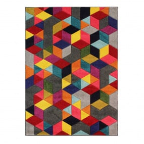 Spectrum Dynamic Multi 80cm x 150cm Rug