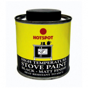 Hotspot Stove and Fireplace Paint Tin 100ml