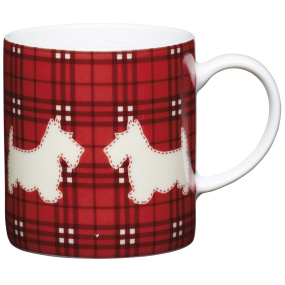 Scotty Dog Porcelain Expresso Cup