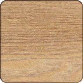 Set of 4 Oak Veneer Coasters