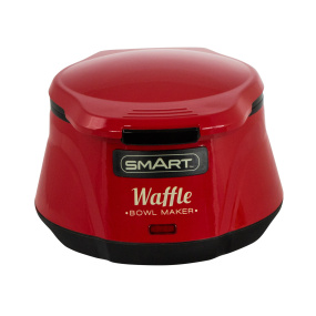 Smart Waffle Bowl Maker in Red
