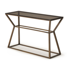 Meyer Glass Console Table