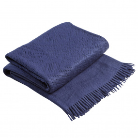 Christy Lace Midnight Throw