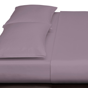 Purple 300TC Superking Flat Sheet