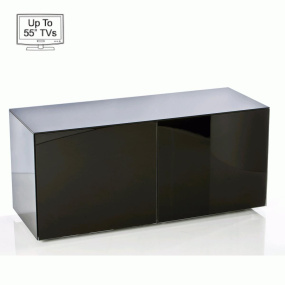 """Invictus Black High Gloss TV Stand for up to 55"""" TVs"""