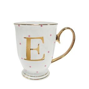 Alphabet Spotty Mug - E