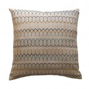 Belfield Carnival Teal Cushion