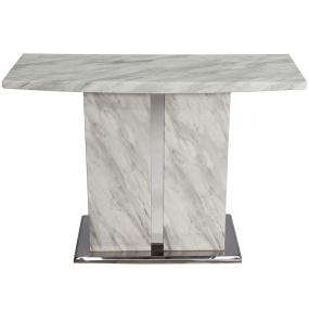 Montero White Marble Console Table