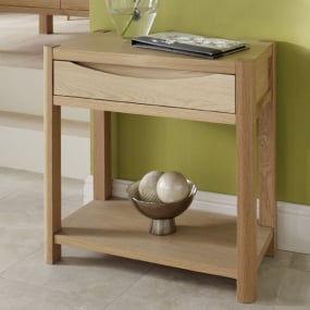 Oslo Light Oak Hall Table