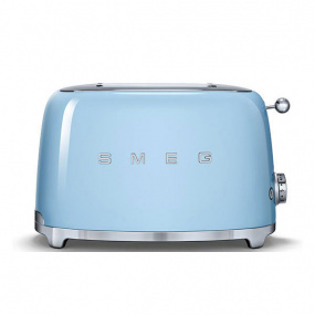 Smeg 50's Retro Style Pastel Blue 2 Slice Toaster