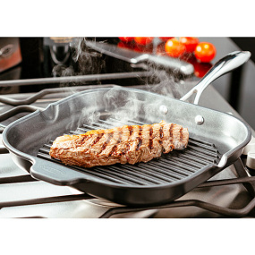 Stellar Ribbed Griddle Pan