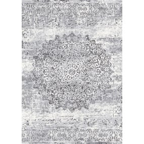 Galleria Grey and White Rug Collection