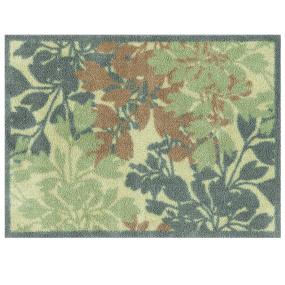 Turtle Mat RHS Wildflower Green Floor Mat