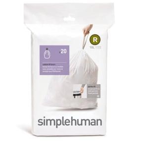 Simplehuman 10 Litre Sure Fit R Bin Liners