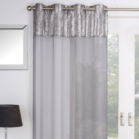 Empire Silver Voile Panel Collection