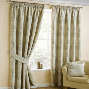 Belfield Arden Natural 90 inch x 90 inch Curtains