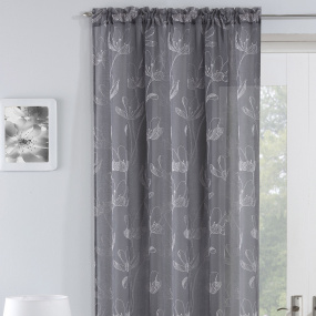 Freya Grey 55x54 Voile Panel