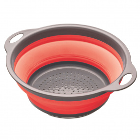 Colourworks Red Collapsible Colander with Handles