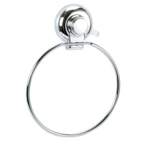 Showerdrape Vertex Collection Super Suction Towel Ring