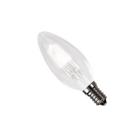 Crompton Halogen Clear Candle SES E14 18W Light Bulb