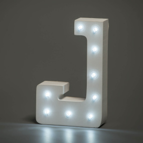 Light Up Letter - J