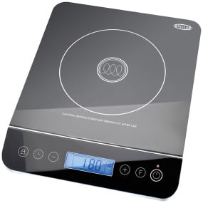 Stellar Glass Portable Induction Hob in Black