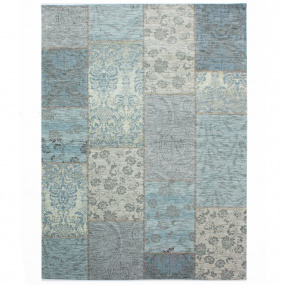 Manhattan Patchwork Duck Egg Rug Collection