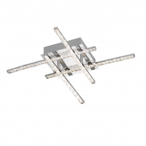 Wofi Kansas Straight Flush Ceiling Light