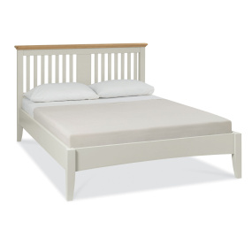 Henley Soft Grey and Oak Bed Frame Collection
