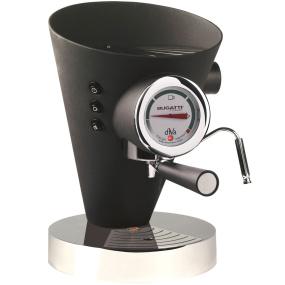 Bugatti Diva Black Espresso Machine