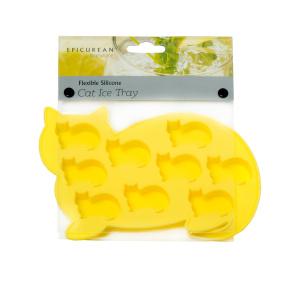 Yellow Cats Ice Cube Tray