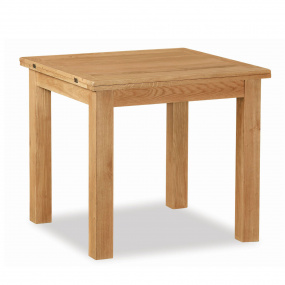 Dorset Square Light Oak 170cm Extending Table
