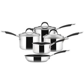 Circulon Momentum Stainless Steel 5 Piece Pan Set