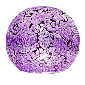 Purple LED Light Sphere