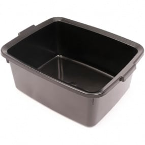 Addis Soft Black 5 Star Rectangular Washing Up Bowl