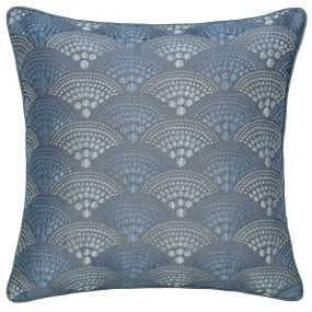 A beautifully luxurious Sanremo cushion from Peacock Blue