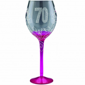 Clear Wine Glass - 70