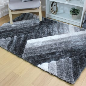 Verge Lattice Grey Rug Collection